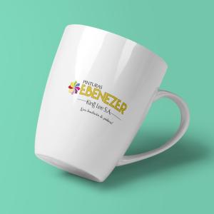 Mugs marcados con el logo