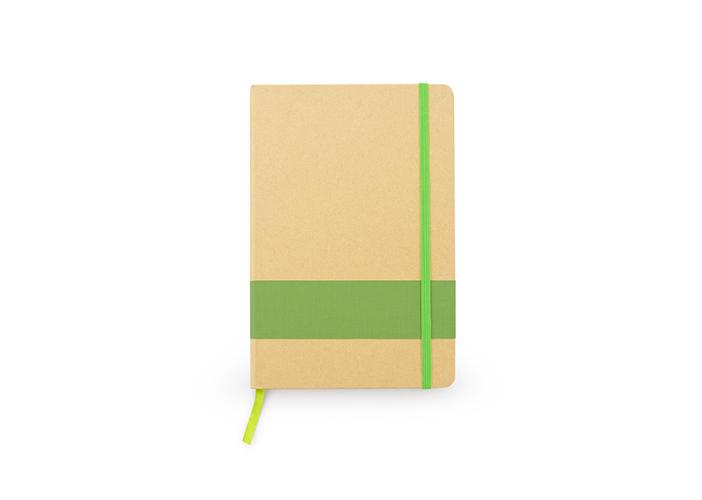 libreta en papel ecologico