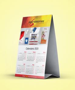 calendario de escritorio sencillo